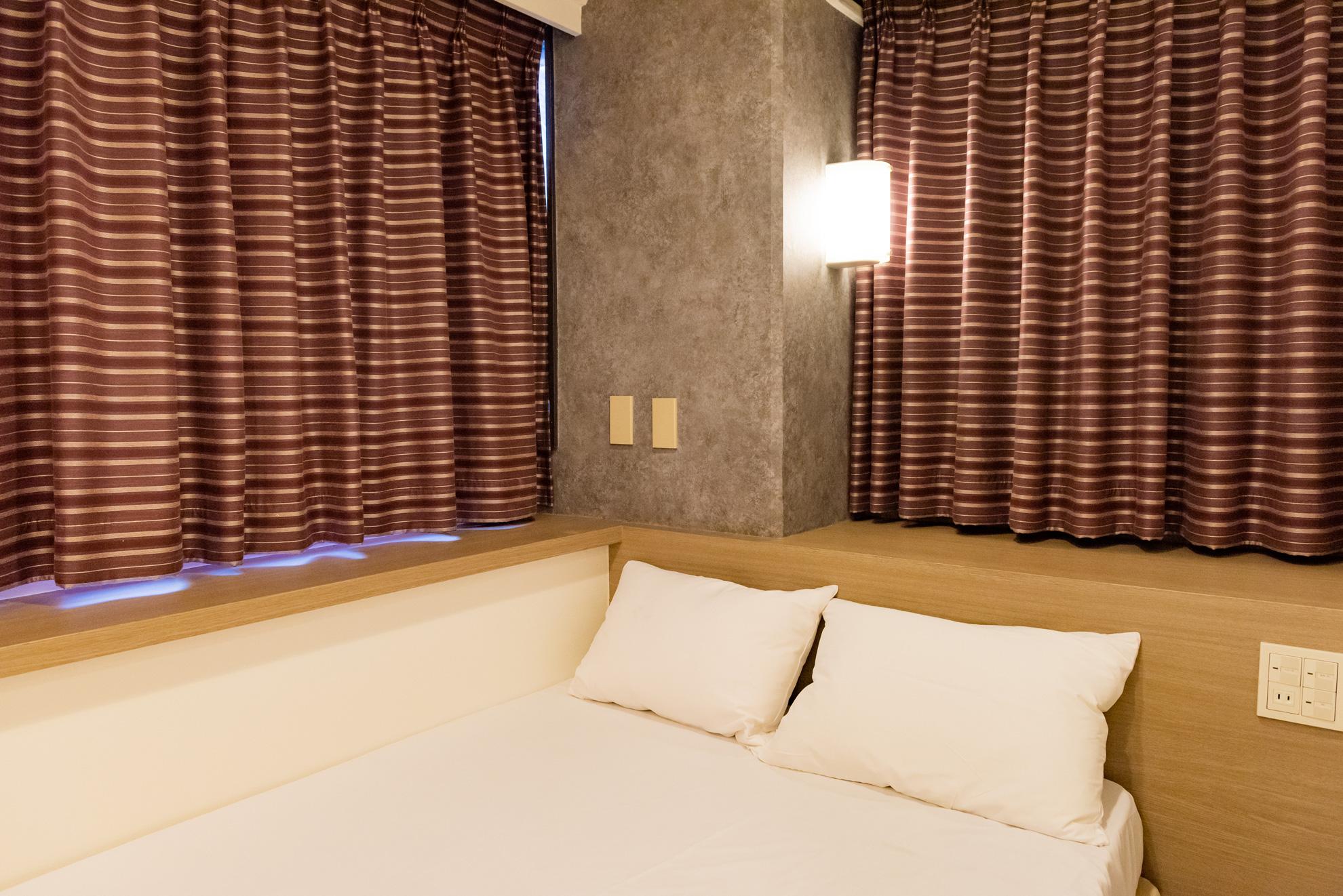 上野ホテルラブホテルエレガントのベッド