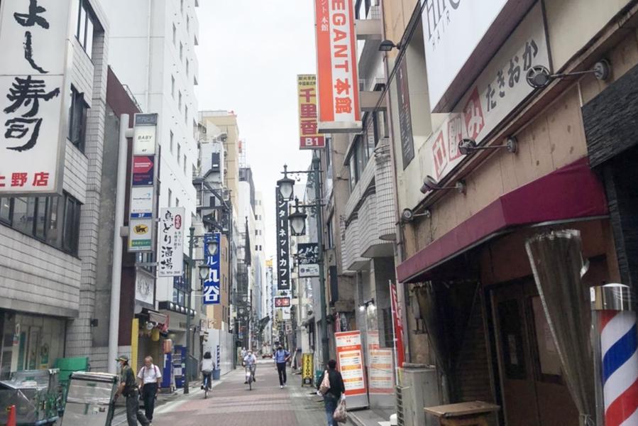 上野ホテルラブホテルビジネスホテルエレガントアネックス